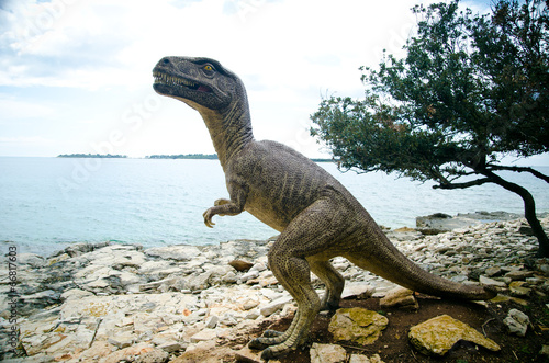Dinosaur National Park in Grand Island Brijuni, Croatia Poster