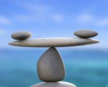 Spa Stones Indicates Healthy E...