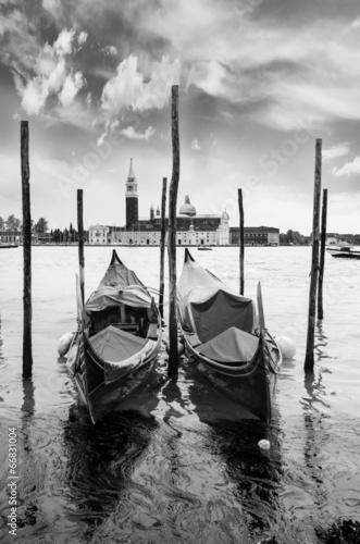 Fototapeta gondole a Venezia obraz