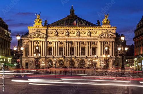 obraz PCV Opera Garnier, Paryż