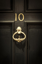 Close Up Of Door Number 10 And...