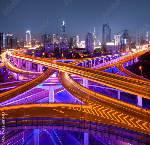 Kreuzung in Shanghai