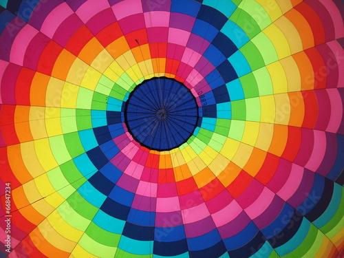 Keuken foto achterwand Ballon Arcobaleno