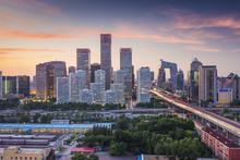 Beijing, China Financial Distr...