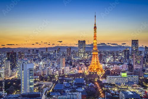 Poster Tokyo Tokyo Japan City Skyline