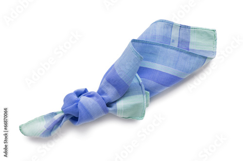 Canvas Print Knotted handkerchief