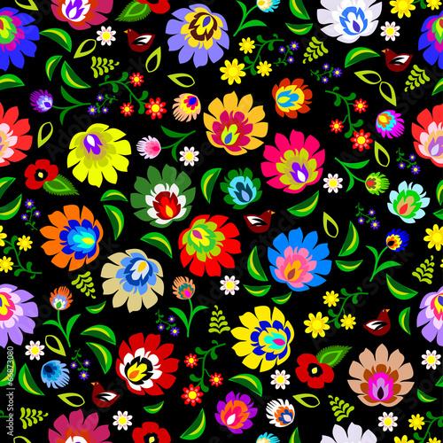 tradycyjny-polski-powtarzalny-wektor-kwiatowy-wzor-kwiatowy