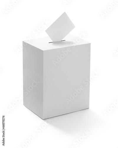 Obraz na plátne ballot box casting vote election