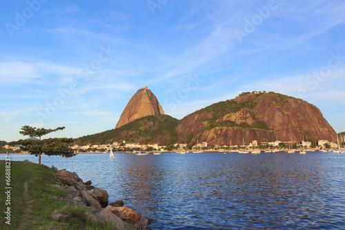 Mountain Sugarloaf Guanabara bay, Rio de Janeiro Poster