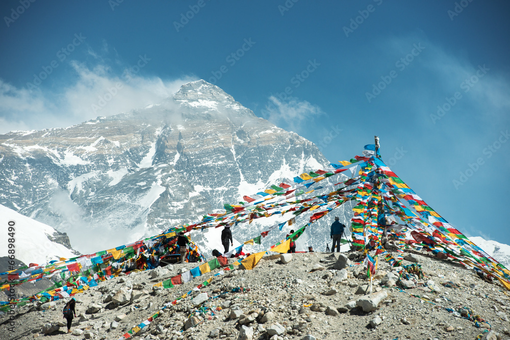 Fototapety, obrazy: Spectacular mountain scenery on the Mount Everest Base Camp