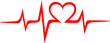 Herzschlag, Musik, Welle, Kurve, Frequenz,
