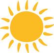 Leinwandbild Motiv Sonne Schön Design