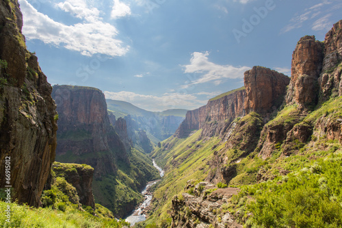 Maletsunyane River valley