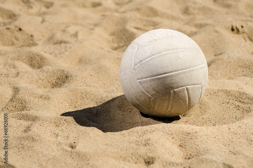 Photo  Ball in Sand