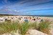 Strandkörbe hinter den Dünen - Ostsee