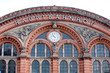 big german railway station facade