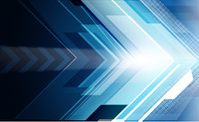 Abstract Arrows Background..