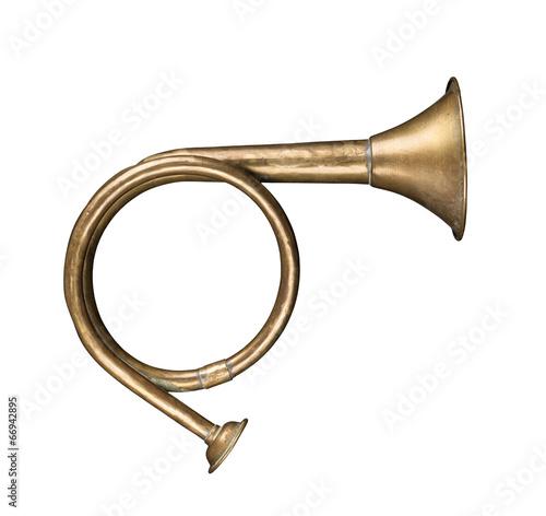 Spoed Foto op Canvas Jacht Hunting horn