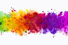 Abstract Artistic Watercolor S...