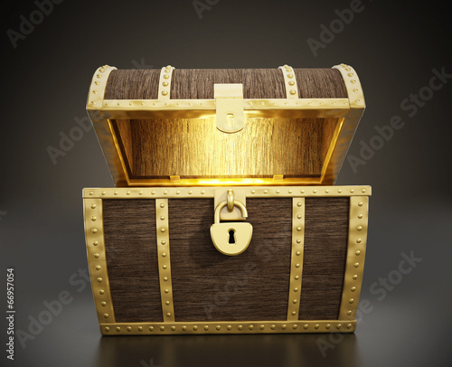 Fotografie, Obraz Treasure Chest
