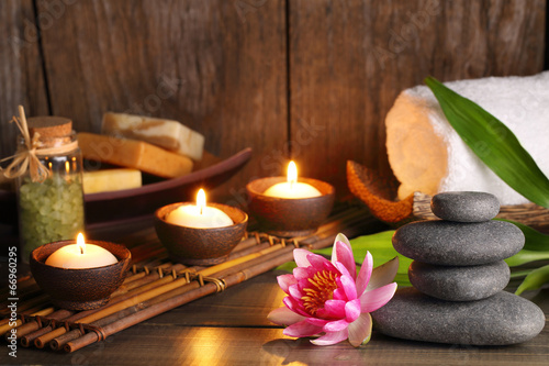 Spa treatment Canvas Print