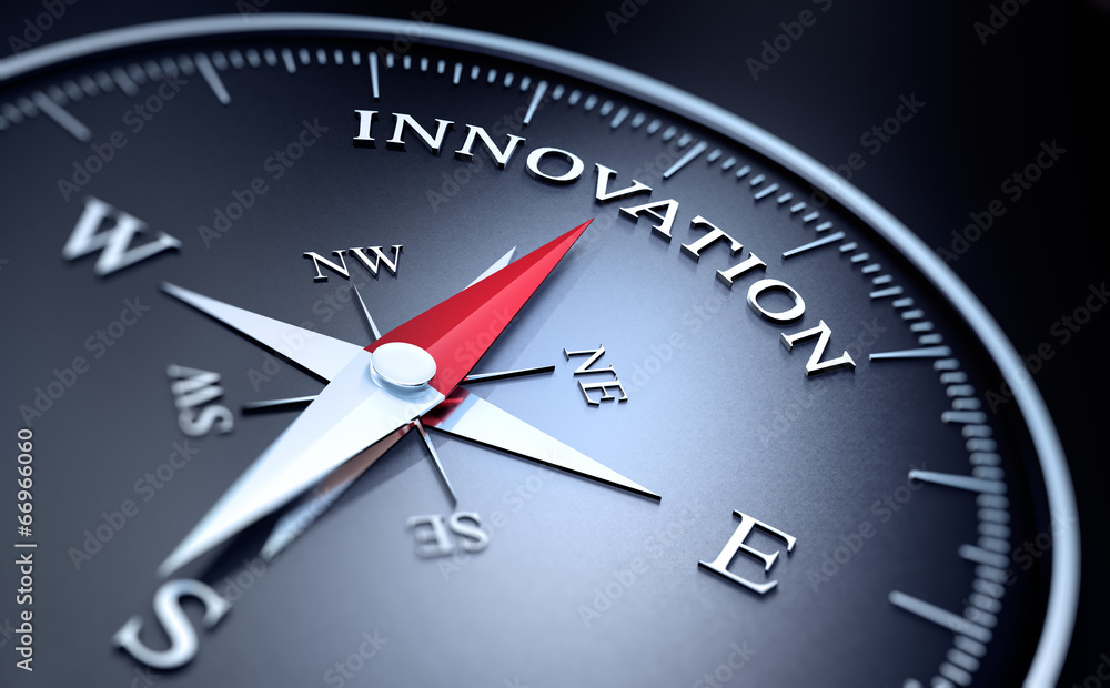 Fototapeta Kompass - Innovation