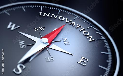 Fototapeta Kompass - Innovation obraz