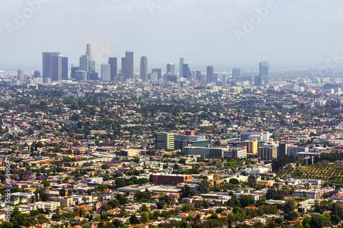 Papiers peints Los Angeles Los Angeles panoramic view
