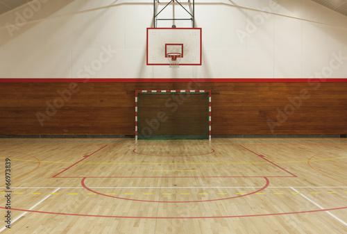 Fotografía  Retro indoor gymnasium