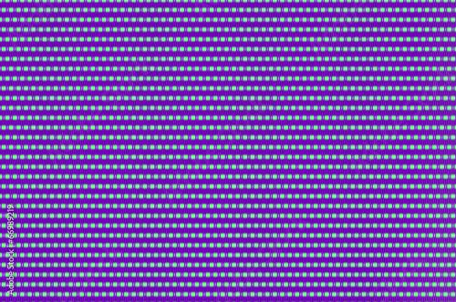 Fotografie, Obraz  Intertwined grid - celadon and purple ornate netting.