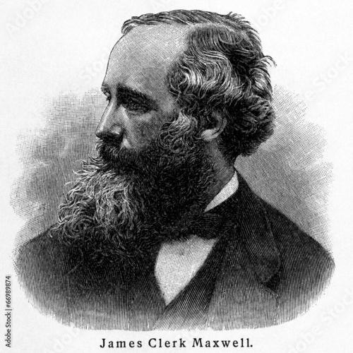 James Clerk Maxwell Fototapete