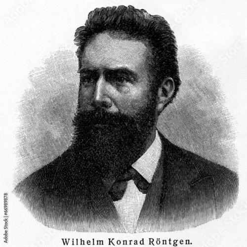 Wilhelm Konrad Röntgen Canvas Print