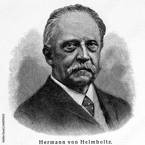 Fotografie, Obraz  Hermann Ludwig Ferdinand von Helmholtz