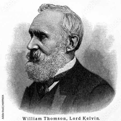 Fotografija  William Thomson, (Lord Kelvin, Kelvin of Largs)