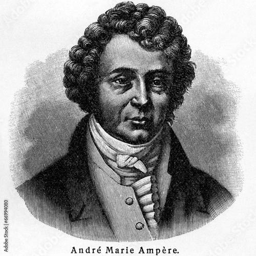 André Marie Ampère Canvas Print