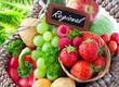 canvas print picture - Obst und Gemüse - Regional