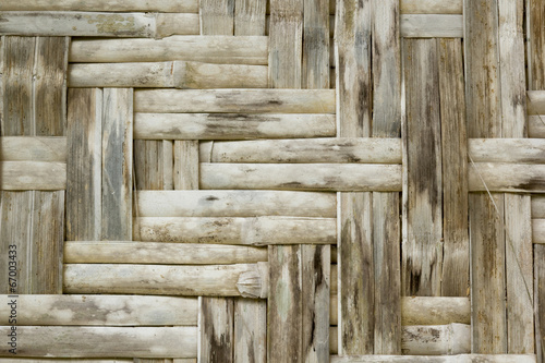 bamboo crafts woven texture