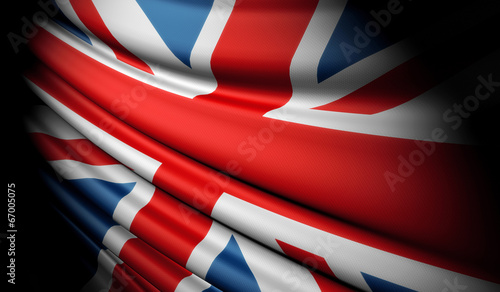Flag of Great Britain Fototapet
