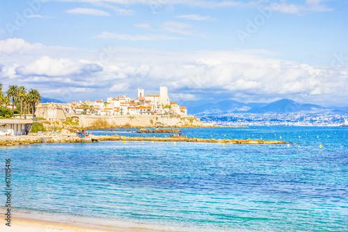 Fotomural  La ciudad de Antibes, sur de Francia