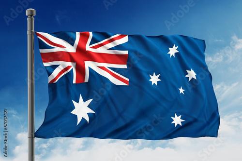 In de dag Australië Australian flag