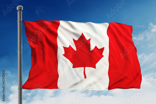 Poster Canada Flag of Canada