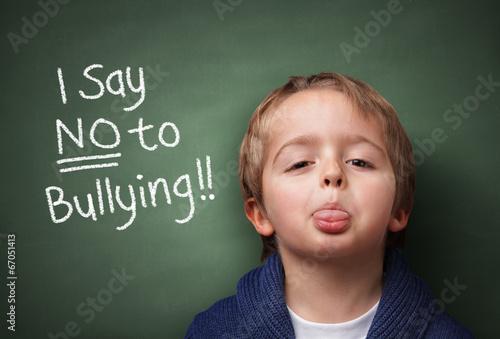 Say NO to bullying Wallpaper Mural