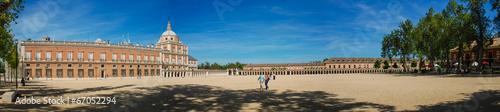Poster Artistique Royal Palace of Aranjuez