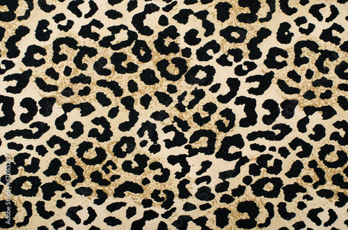 Poster Leopard Brown and black leopard pattern.Animal print as background.