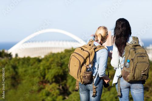 Fotografia  tourists in Durban, South Africa