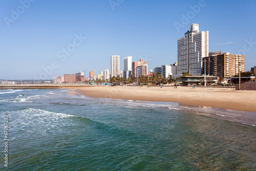Fotografía  beachfront of Durban, South Africa