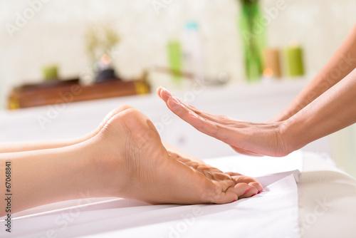 Photo  Reiki treatment