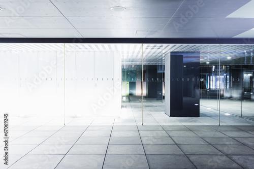 Entrance of the building Fotobehang