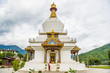 Leinwanddruck Bild - national memorial chorten in thimphu, bhutan