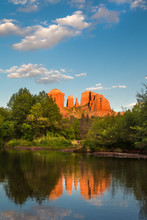 Cathedral Rock At Oak Creek In...